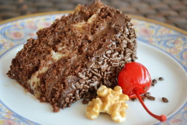 bolo de chocolate e nozes 3